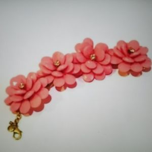 J. Crew Factory Flower Bracelet